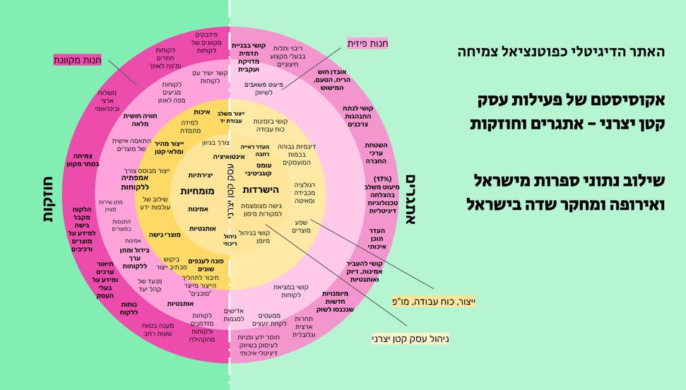 מערכת פעילות של עסק קטן יצרני - חוזקות ואתגרים. שילוב נתוני ספרות מישראל ואירופה ומחקר שדה בישראל