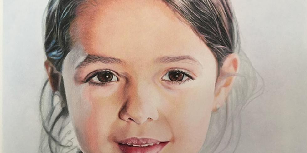 Photo Realistic Portrait- Geneva Home Studio