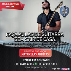Curso de Guitarra - Ao Vivo Online