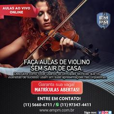 Curso de Violino - Ao Vivo Online