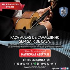 Curso de Cavaquinho - Ao Vivo Online