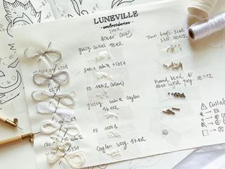 リュネヴィルのコンセルヴァトワールは少人数制の刺繍学校で、リュネヴィル刺繍の技術を学べる唯一の学校です。