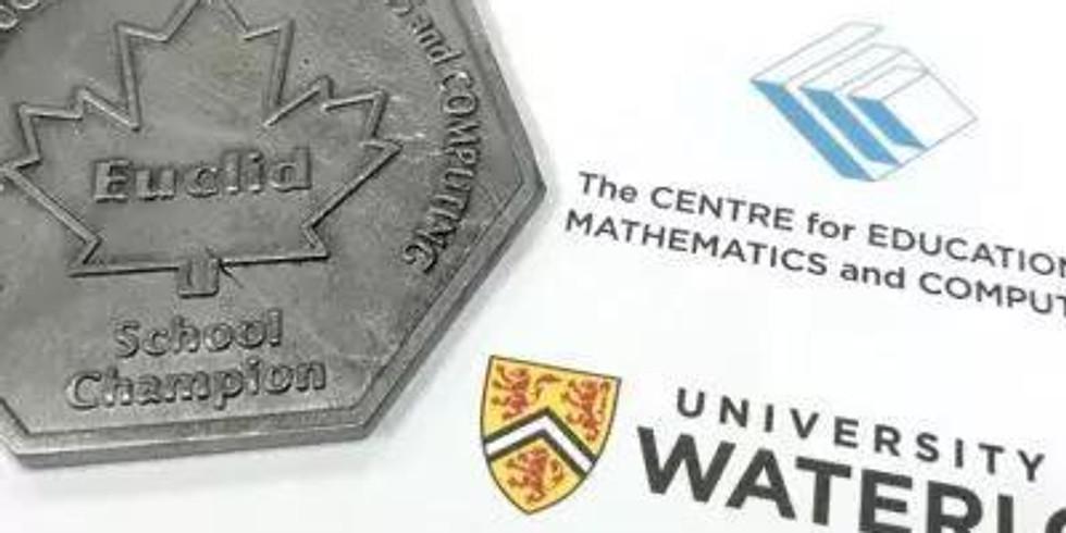 Euclid Math Contest Prep Class
