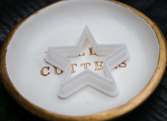 Star Shape Polymer Clay Cutter
