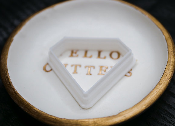 Diamond Shape Polymer Clay Cutter