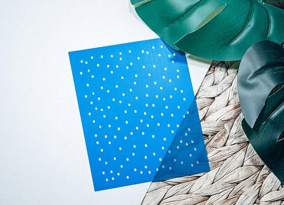 Mini Silkscreen Polka Dot Stencil