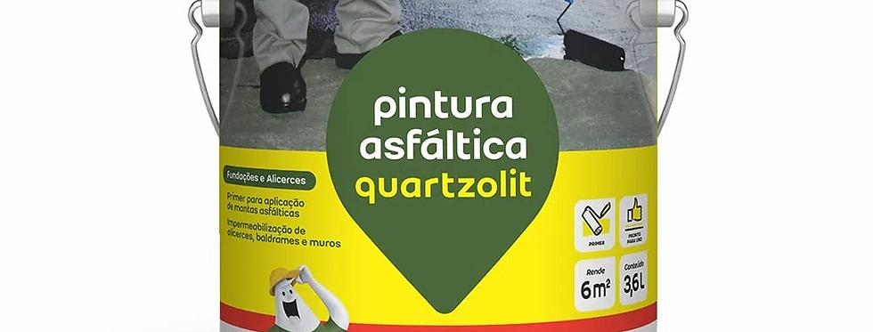 Pintura Asfáltica Quartzolit - Galão 3,6 Litros