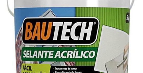 Bautech Selante Acrílico - Galão 5 Kg