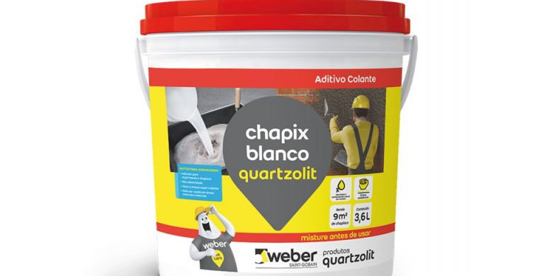 Chapix Blanco Quartzolit - Galão 3,6 Litros