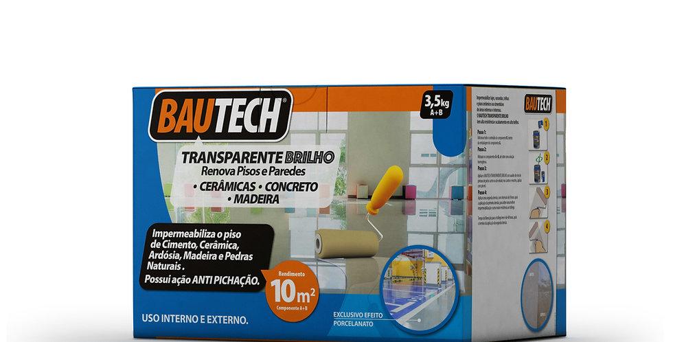 Bautech Transparente Alto Brilho - Cjto. A+B - 3,5 Kg