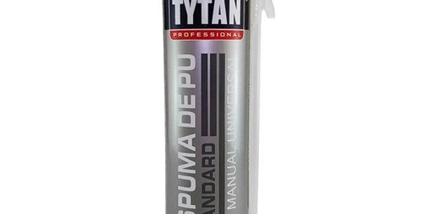 Espuma PU Expansiva Tytan - Frasco 500 ml