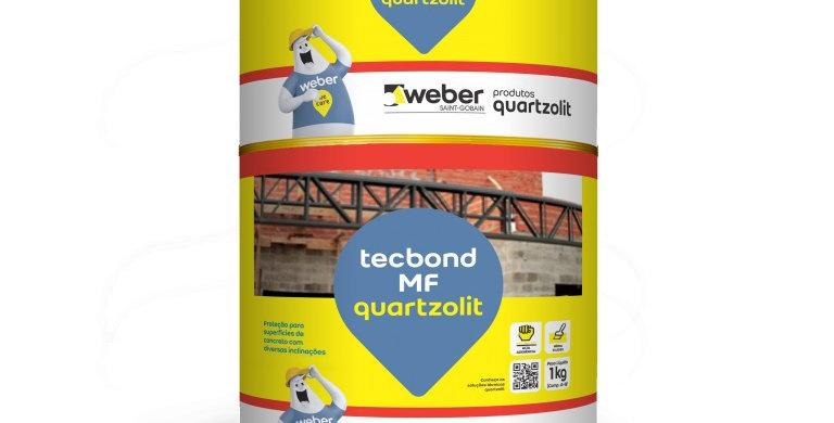 Tecbond MF Quartzolit - Cjto A+B - 1 kg