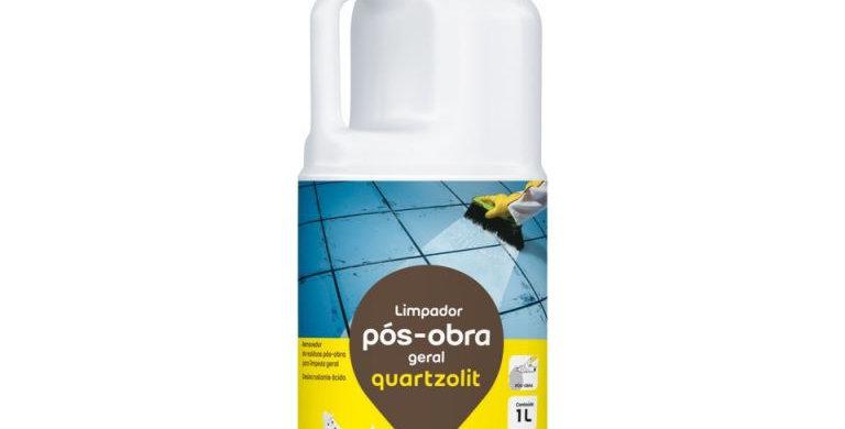 Limpador Pós Obra Geral Quartzolit - Frasco 1 Litro