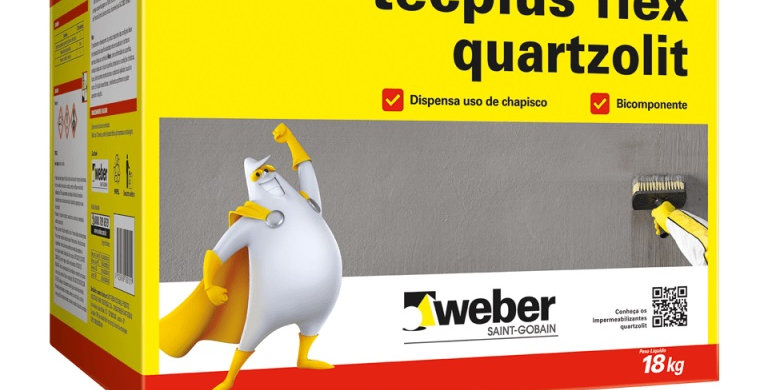 Tecplus Flex Quartzolit - Caixa 18 kg