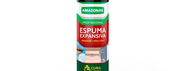 Espuma PU Expansiva Amazonas - Frasco 500 ml