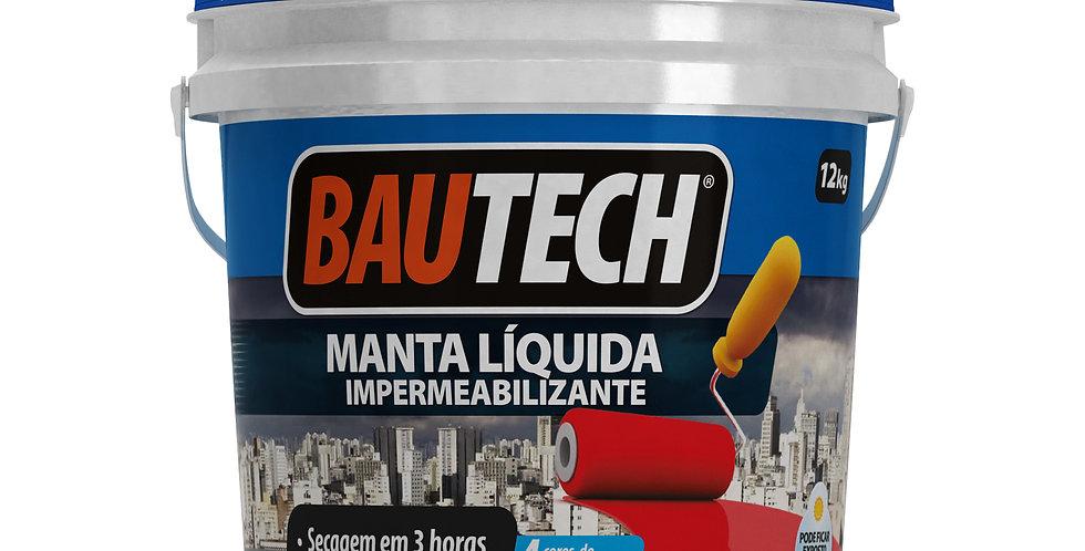 Bautech Manta Líquida - Balde 12 Kg