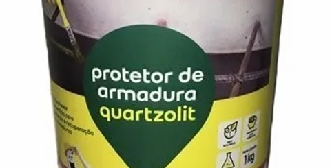 Protetor de Armadura Quartzolit - Pote 1 Kg