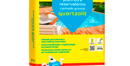 Camada Grossa Quartzolit - Saco 20 Kg