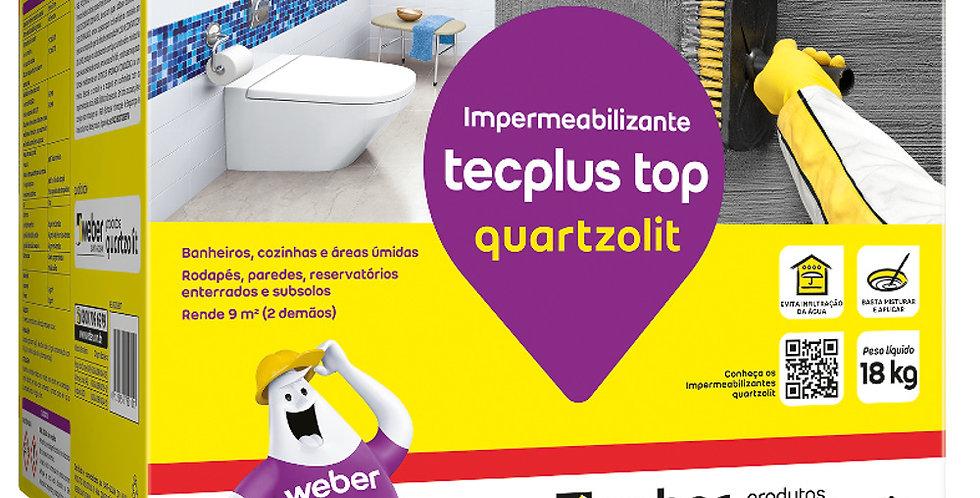 Tecplus Top - Quartzolit - Caixa 4 kg