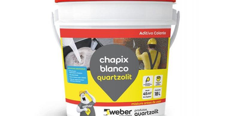 Chapix Blanco Quartzolit - Balde 18 Litros