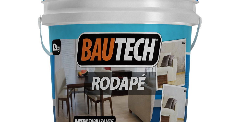 Bautech Rodapé - Balde 12 Kg