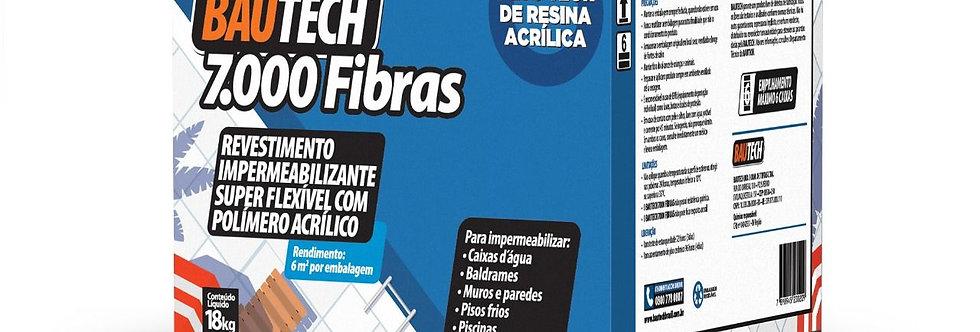 Bautech 7000 Fibras - Caixa 18 kg