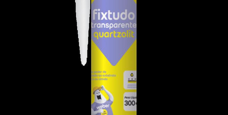 Fixtudo Transparente Quartzolit - Cartucho 300 g