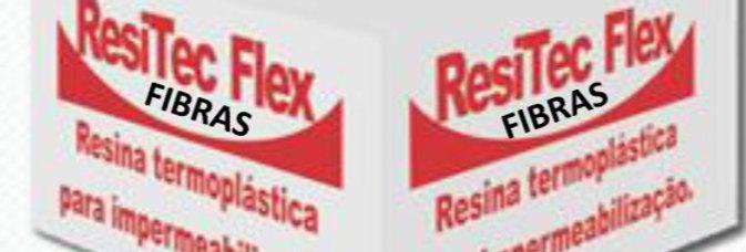 Resitec Flex Fibras - Caixa 18 Kg