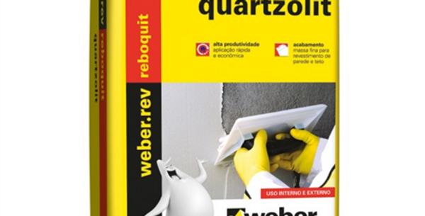 Reboquit Quartzolit - Saco 20 Kg
