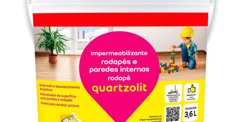 Rodapé Quartzolit - Frasco 1 Litro