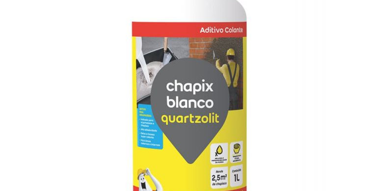 Chapix Blanco Quartzolit - Frasco 1 Litro