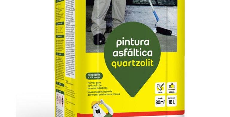 Pintura Asfáltica Quartzolit - Lata 18 Litros