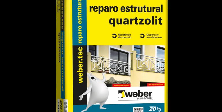 Reparo Estrutural Quartzolit - Saco 20 Kg