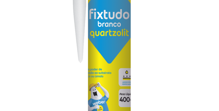 Fixtudo Branco Quartzolit - Cartucho 400 ml