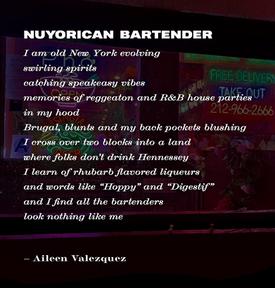 """""""Nuyorican Bartender"""""""