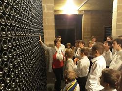 Une visite de cave en Champagne