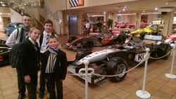 Les voitures du  Prince à Monaco
