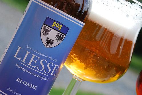 Carton de 24 bières BLONDES 33cl