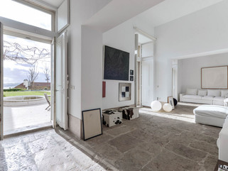 Гармоничный интерьер современного дома в Лиссабоне