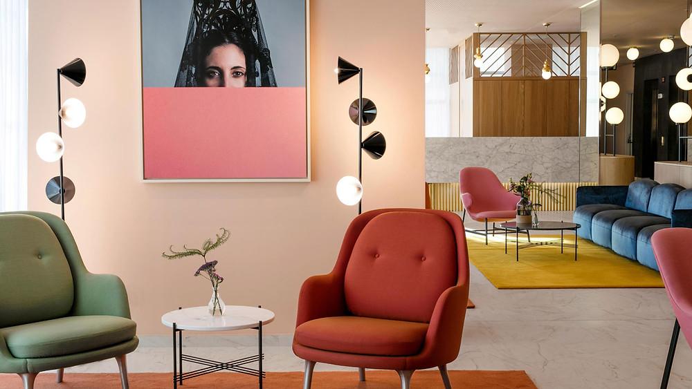 Дизайн интерьера от дизайнера Jaime Hayon