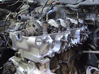 Toyota 22re cylinder head