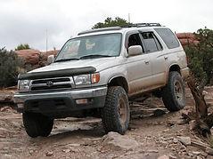 Toyota 4runner Off Roading