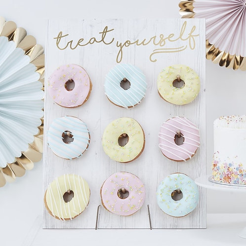 Classic White Donut Wall
