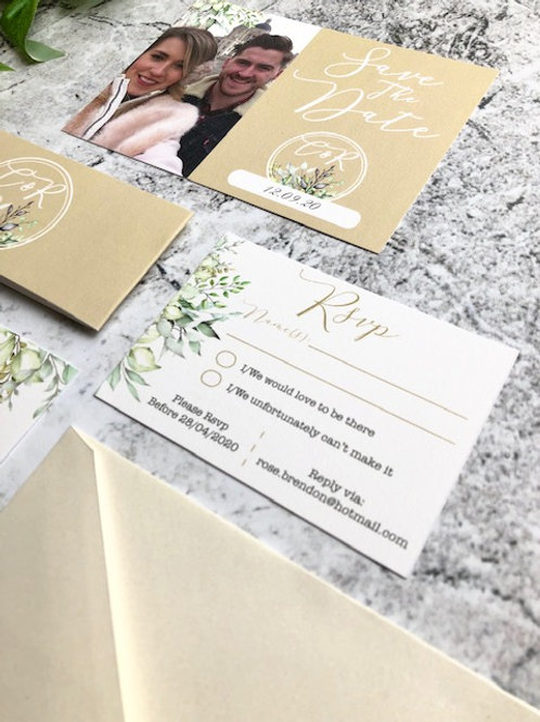 ALL Printed RSVP Cards