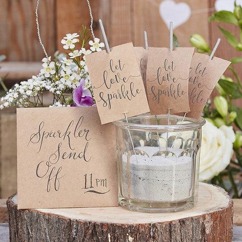 Let Love Sparkle- Sparkler Kit