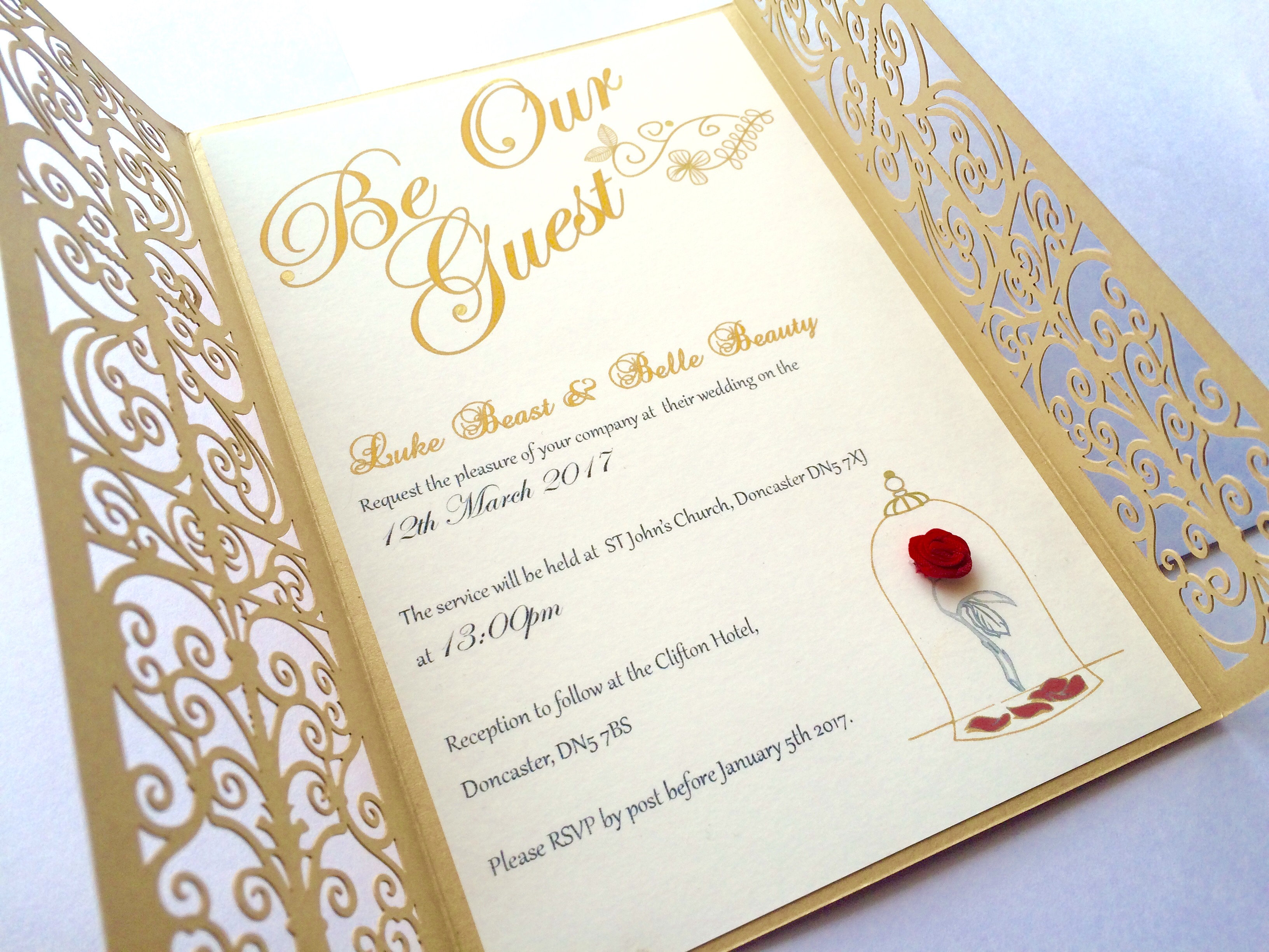 My Little Future Wedding Invitations Be Our Guest