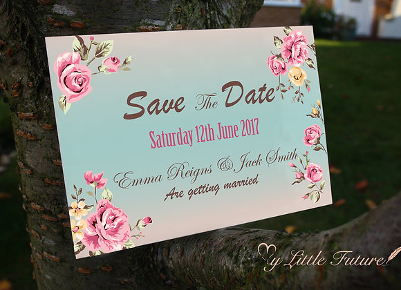 Simple Beauty- Save the Date