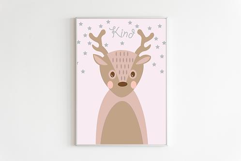 Animal nursery prints - set of prints, nursery wall art