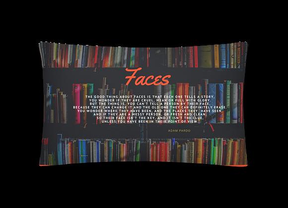 """""""Faces"""" Pillow"""