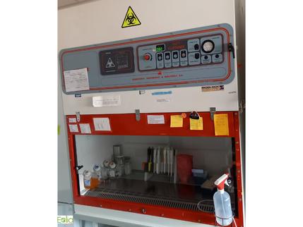 EOLIA réalise un audit de poste de sécurité microbiologique (PSM) avec maintenance corrective